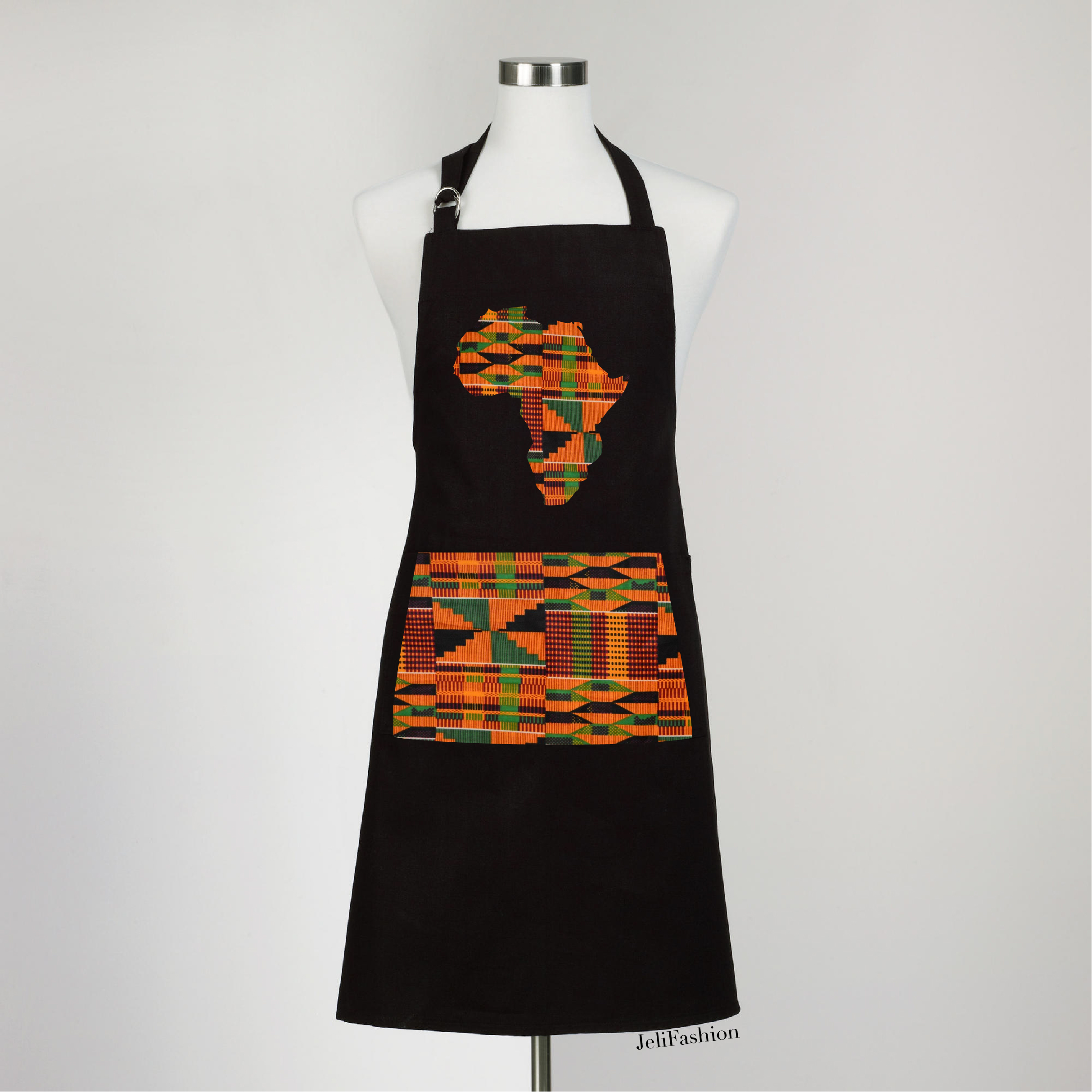 Ohemaa Kente Kitchen Apron ...