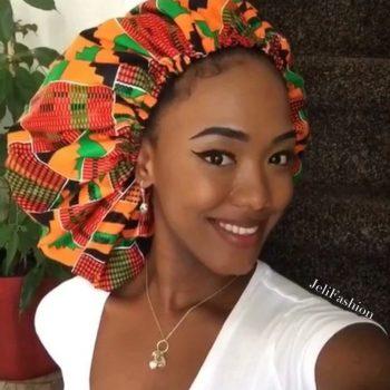 JeliFashion Kente bonnet - ohema print